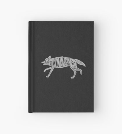 These Were The Wolves She Rode to War - Wolf by Wolf Hardcover Journal