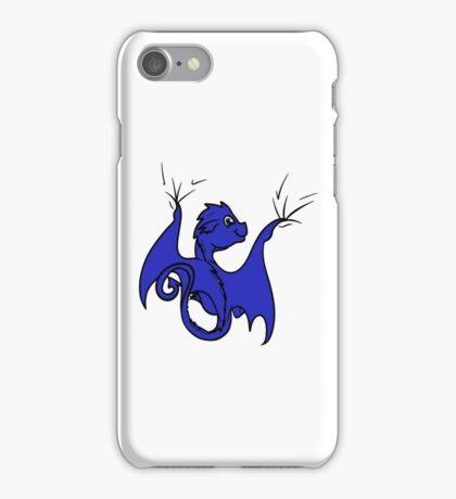 Blue Dragon Rider iPhone Case/Skin