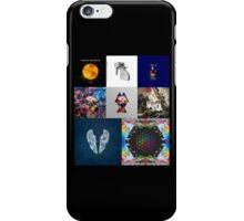 Coldplay Album Cover Timeline iPhone Case/Skin