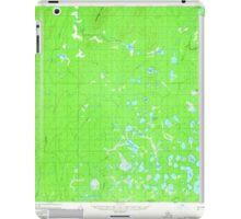 USGS TOPO Map Alaska AK Mount McKinley C-6 357801 1958 63360 iPad Case/Skin