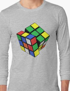 Rubik's Cube - Get Twisted Long Sleeve T-Shirt