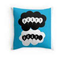 TFIOS OKAY Throw Pillow