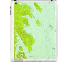 USGS TOPO Map Alaska AK Petersburg B-6 358335 1948 63360 iPad Case/Skin