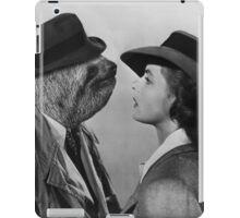 Sloth in Casablanca iPad Case/Skin