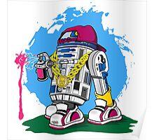 Star Wars: Street Art2D2 Poster
