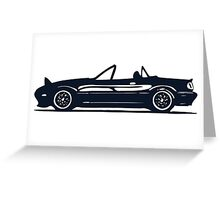Mazda Miata Greeting Card