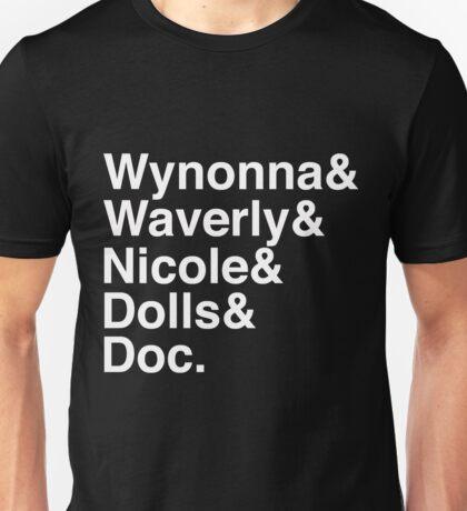Wynonna Earp Names Unisex T-Shirt