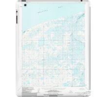 USGS TOPO Map Alaska AK Port Moller D-5 358547 1963 63360 iPad Case/Skin