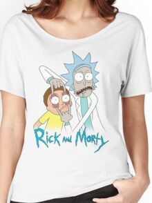 Rick And Morty | Eyes Wide Open Women's Relaxed Fit T-Shirt