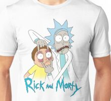 Rick And Morty | Eyes Wide Open Unisex T-Shirt