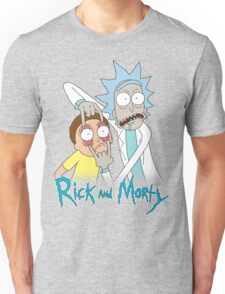Rick And Morty   Eyes Wide Open Unisex T-Shirt