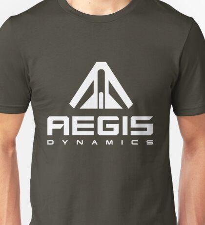 Aegis Dynamics White Unisex T-Shirt