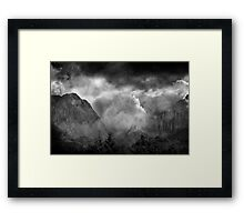 A Valley of Tears. Framed Print