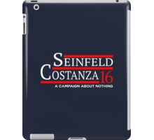 SEINFELD COSTANZA CAMPAIGN ABOUT NOTHING iPad Case/Skin