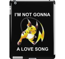 A Love Song Monster iPad Case/Skin