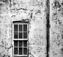 Old Window B&W by Adam1965