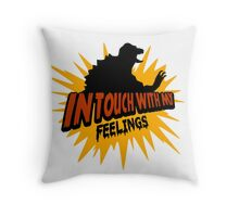 In Touch With My Feelings Throw Pillow