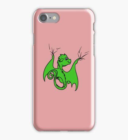 Green Dragon Rider iPhone Case/Skin