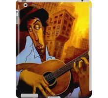 """GUITAR PLAYER"" Abstract Art Print iPad Case/Skin"