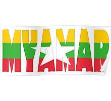 Myanmar Poster