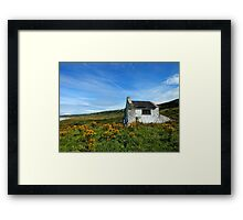 Whitepark Bay, Antrim, Northern Ireland Framed Print
