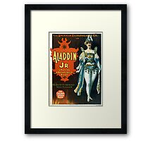 Aladdin Jr 2 - Strobridge - 1894 Framed Print