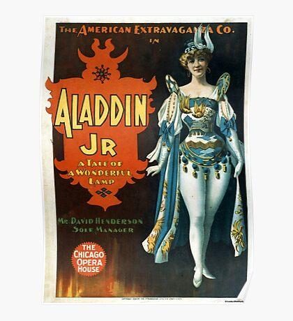 Aladdin Jr 2 - Strobridge - 1894 Poster