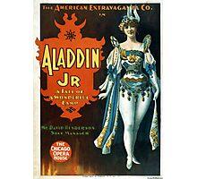 Aladdin Jr 2 - Strobridge - 1894 Photographic Print