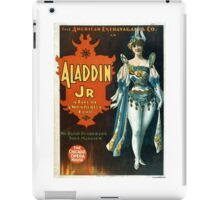 Aladdin Jr 2 - Strobridge - 1894 iPad Case/Skin