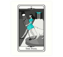 Tarot #0 - The Fool Art Print