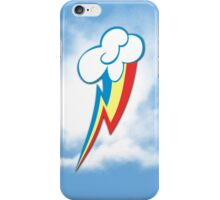 Rainbow Dash Nebulous Cutie Mark iPhone Case/Skin