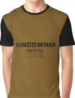 SUNDOWNER MOTEL PREACHER Graphic T-Shirt