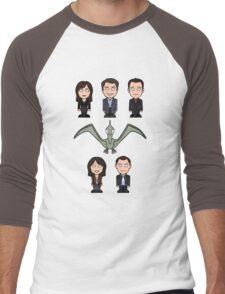 Torchwood team (shirt) Men's Baseball ¾ T-Shirt