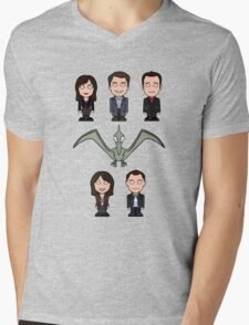 Torchwood team (shirt) Mens V-Neck T-Shirt