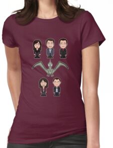 Torchwood team (shirt) Womens Fitted T-Shirt