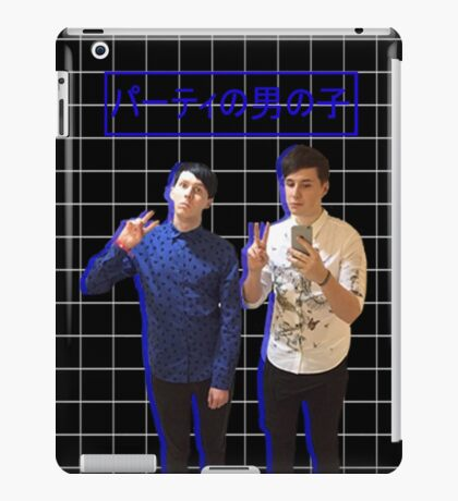 Dan and Phil Party Boys iPad Case/Skin