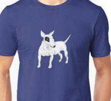 Cool Bull Terrier Doodle Unisex T-Shirt