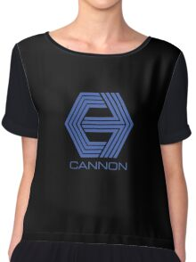 Cannon Films Chiffon Top
