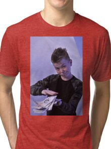Alistair got a swaggeringly large amount of money for his birthday Tri-blend T-Shirt