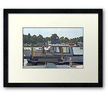 Going fishing Framed Print
