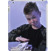 Alistair got a swaggeringly large amount of money for his birthday iPad Case/Skin