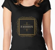 T-shirt Fashion Women's Fitted Scoop T-Shirt