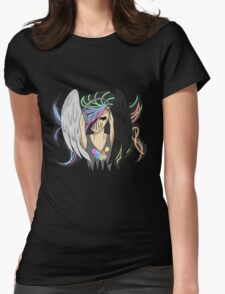 Music Angel Womens Fitted T-Shirt