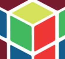 Rubik's Cube - Neon Sticker