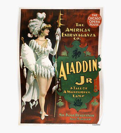Aladdin Jr 3 - Strobridge - 1894 Poster