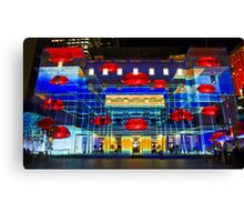Hot Lips - Customs House - Sydney Vivid Festival - Australia Canvas Print