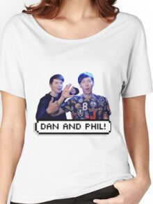 Dan and Phil Women's Relaxed Fit T-Shirt