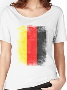 Germany Flag Proud German Vintage Distressed Women's Relaxed Fit T-Shirt