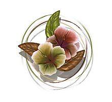 Autumn Hibiscus Photographic Print