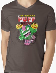 The Incredible Puff Mens V-Neck T-Shirt